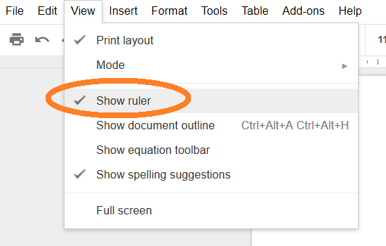How to format your story in Google Docs – The Library